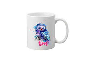 Don't Give a  Hoot Coffee Mug