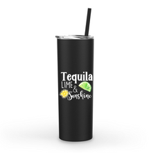 Tequila Lime and Sunshine 20oz Tumbler