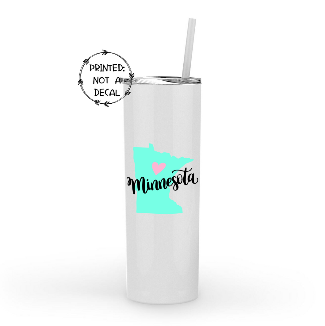 Minnesota Metal 20oz Tumbler
