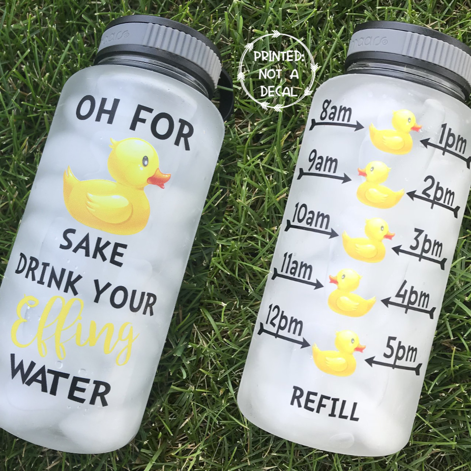 For Duck Sake Water Bottle | 34oz