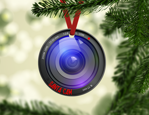 Santa Cam Ornaments