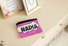 Personalized Sequin Bag