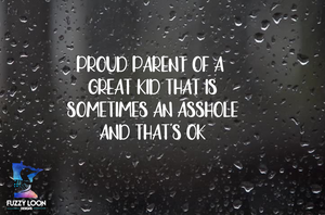 Proud Parent Decal