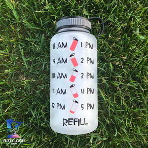 Drink Your Heiffin Water  Water Bottle | 34oz