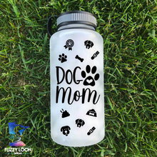 Dog Mom Water Bottle | 34oz