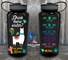 No Prob-Llama  Motivation Water Bottle | 34oz