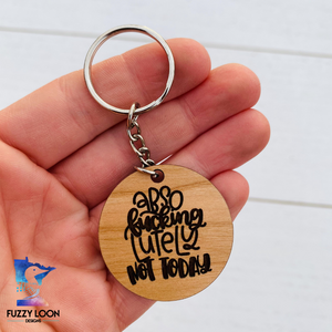 Abso F*cking Lutely Keychain