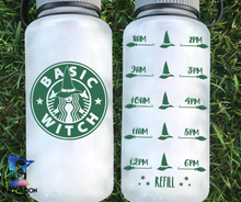 Basic Witch Water Bottle | 34oz