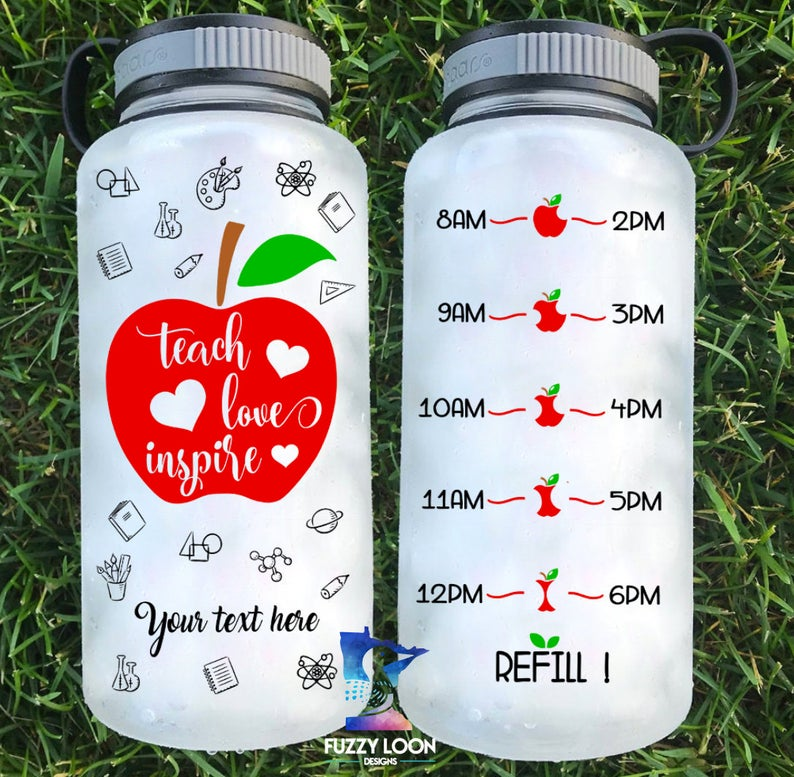 Teach Love Inspire Water Bottle | 34oz