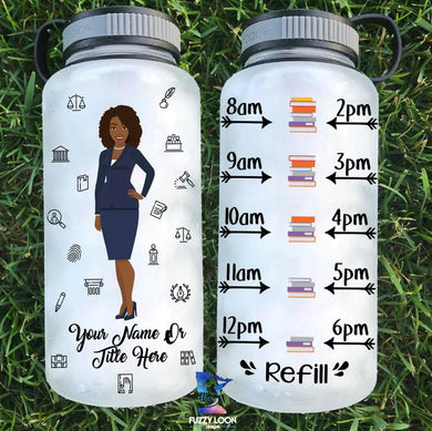 Attorney/ Legal Themed Water Bottle | 34oz