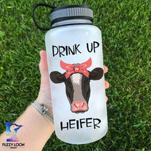 Drink Up Heiffer Water Bottle | 34oz