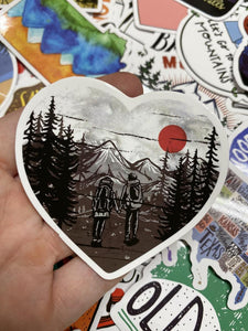 Hiking Outdoor Sticker Packs