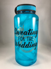 sweating for the wedding bottle