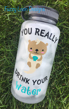 You Really Otter Drink Your Water Bottle | 34 oz