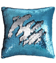 Personalized Mermaid Sequin Pillow (Script Font)