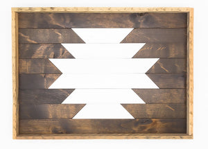 15% off Reclaimed Wood Tray