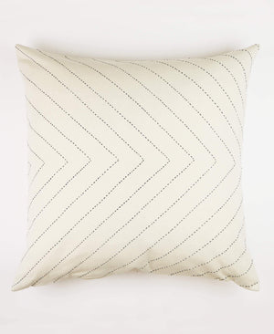 Bone Arrow Stitch Throw Pillow Cover