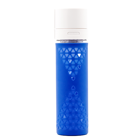 Blue Glass Bottle by SANS