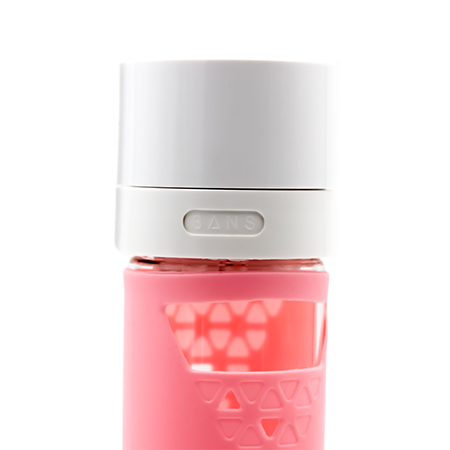 Pink Glass Bottle by SANS