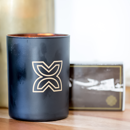 Sultry Black Amber & Oak Hand-Poured Candles