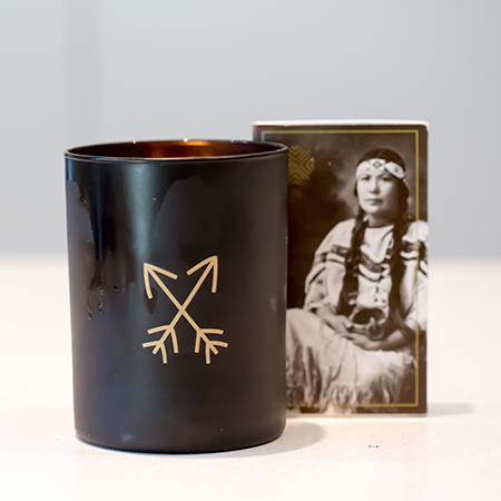 Black Hills Lupin and Wild Buffalograss Hand-Poured Candle