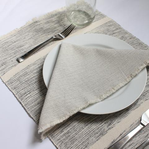 Mixed Grey Napkins