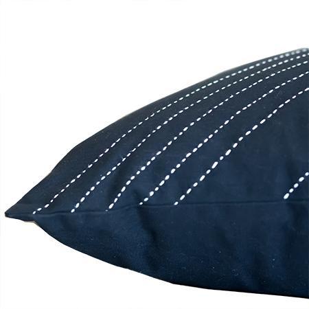 Black Arrow Lumbar Pillow Cover
