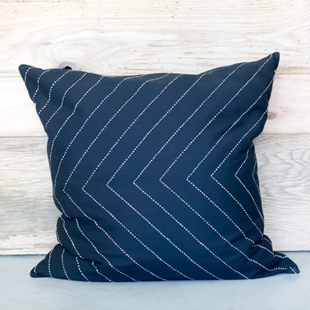 Black Arrow Throw Pillow Cover