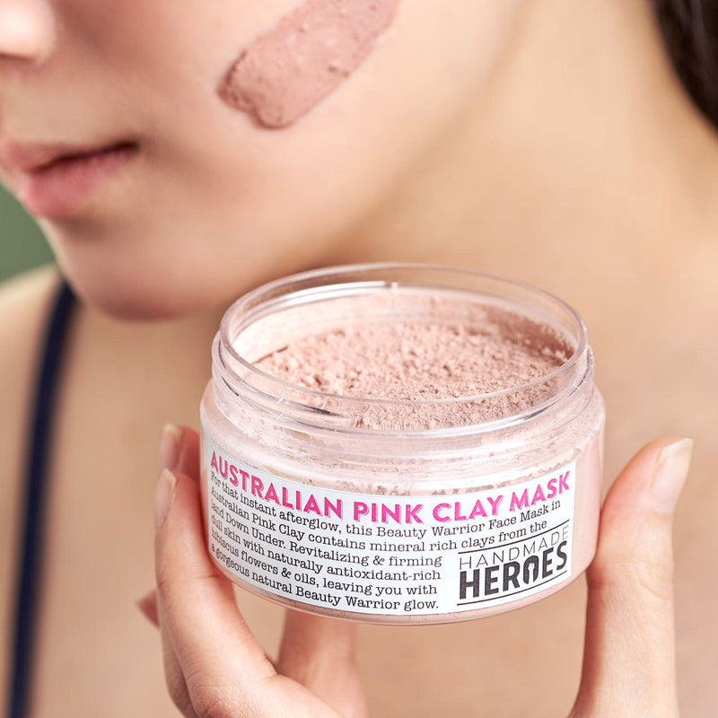 Beauty Warrior Face Mask - Australian Pink Clay