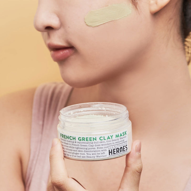 Beauty Warrior Face Mask - French Green Clay