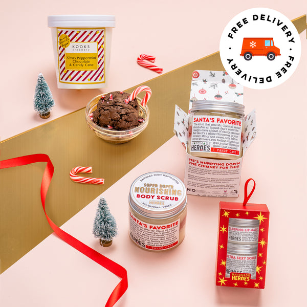 ⛄ Peppermint Chocolate Kooks Creamery x Handmade Heroes Christmas Care Package ⛄