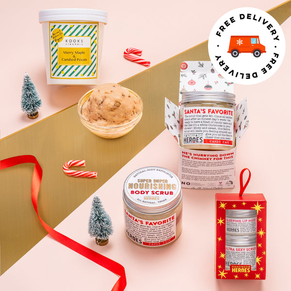 ⛄ Maple Pecan Kooks Creamery x Handmade Heroes Christmas Care Package ⛄