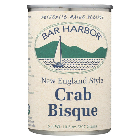 Bar Harbor Soup Bisque Crab - Case Of 6 - 10.5 Oz.
