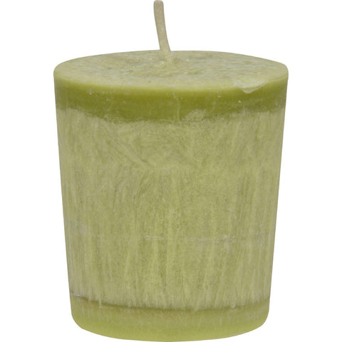 Aloha Bay Votive Eco Palm Wax Candle - Lemon Verbena- Case Of 12 - 2 Oz