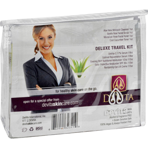 Devita Deluxe Travel Pack - 8 Pieces