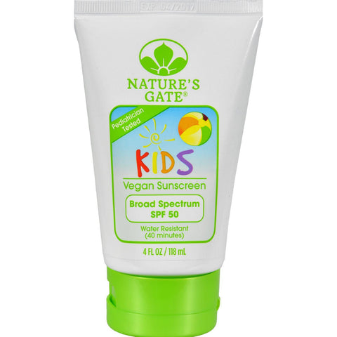 Nature's Gate Kid's Block Spf 50 Sunscreen Lotion - 4 Fl Oz