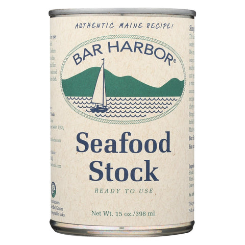 Bar Harbor All Natural Seafood Stock - Case Of 6 - 15 Oz.
