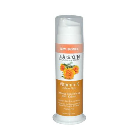 Jason Lightening Vitamin K Creme Plus - 2 Oz