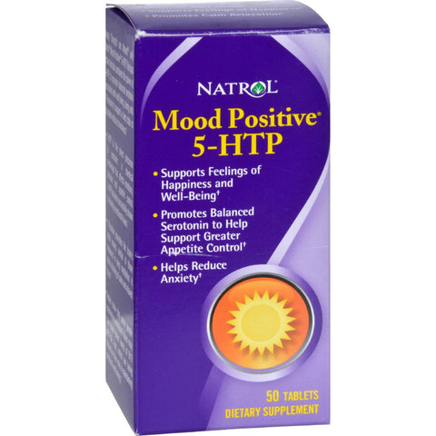 Natrol Mood Positive 5-htp - 50 Tablets
