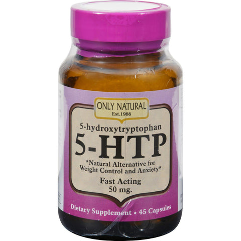 Only Natural 5 - Htp 50mg - 45 Caps