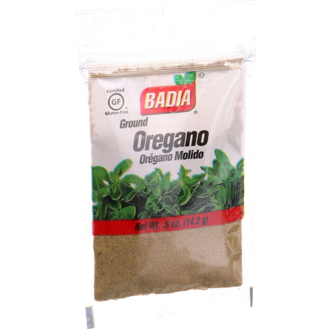 Badia Spices Oregano - Ground - .5 Oz - Case Of 12