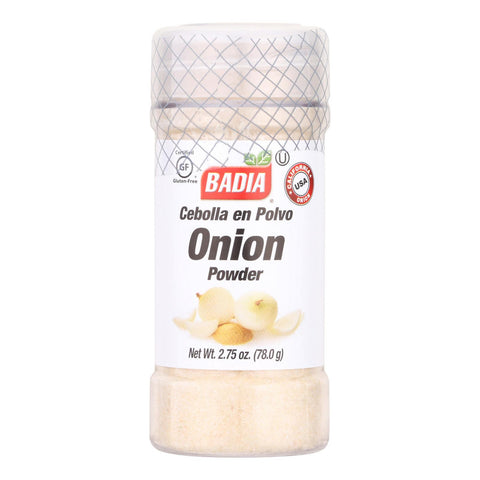 Badia Spices Onion Powder - Case Of 12 - 2.75 Oz.