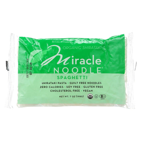 Miracle Noodle Shirataki Pasta - Organic Spaghetti - Case Of 6 - 7 Oz.