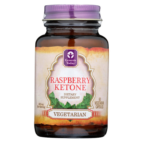 Genesis Today Raspberry Ketone - Case Of 1 - 60 Vege Capsules