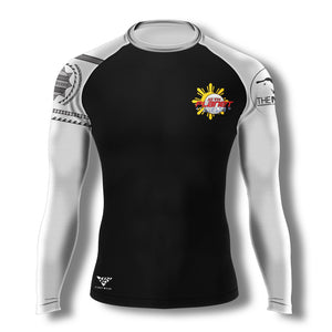 10th Planet Daly City 10PDC Ranked Rashguard (White) - Zenko Fightwear