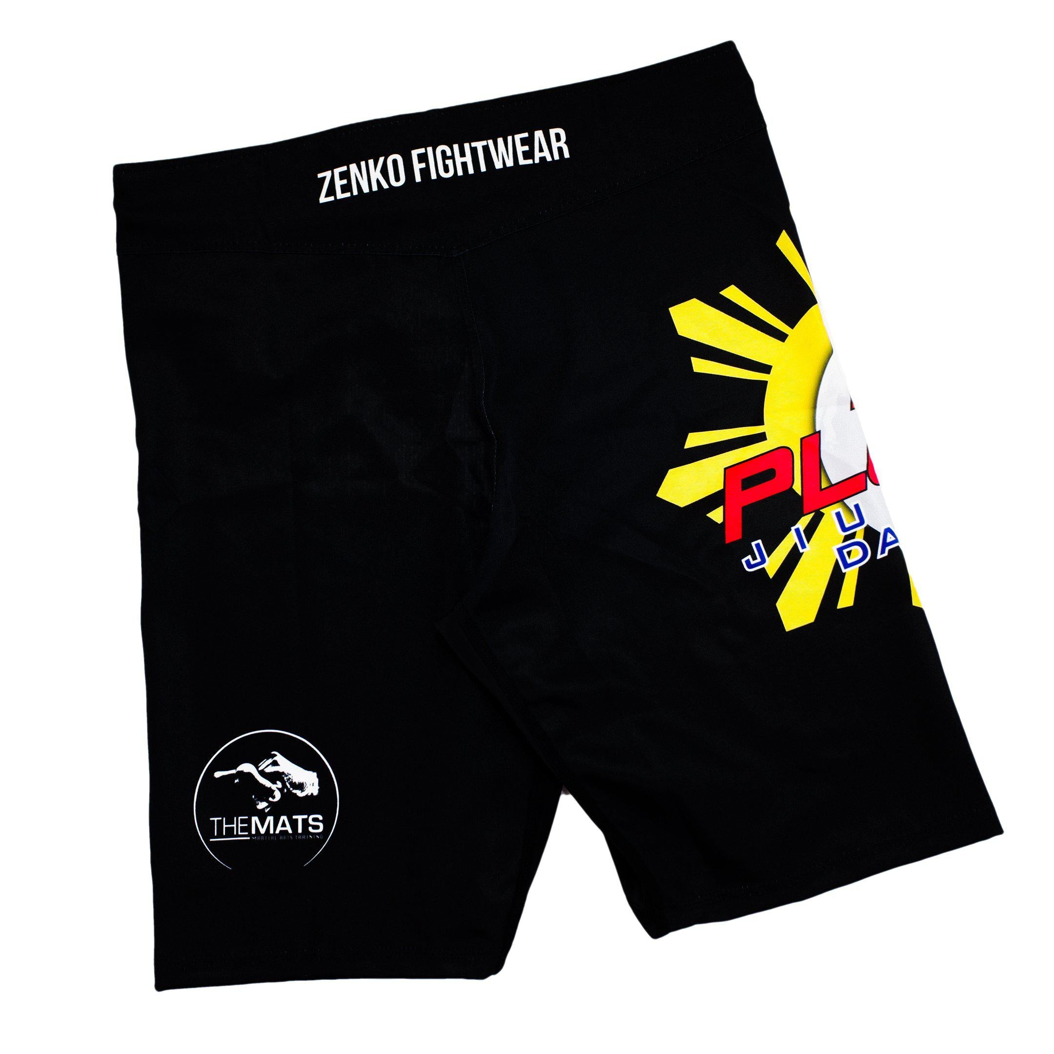 10th Planet Daly City 10PDC Fight Shorts Zenko Fightwear Back