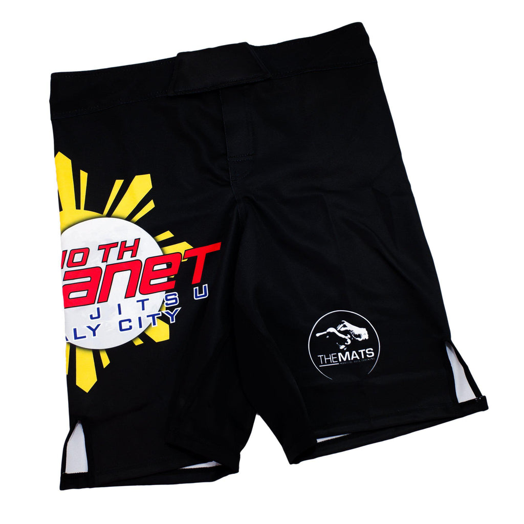 10th Planet Daly City 10PDC Fight Shorts Zenko Fightwear Front