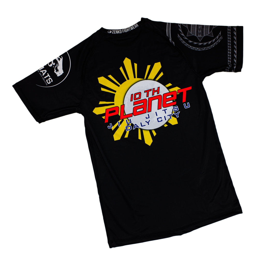 10PDC 10th Planet Daly City Short Sleeve Rashguard Zenko Fightwear