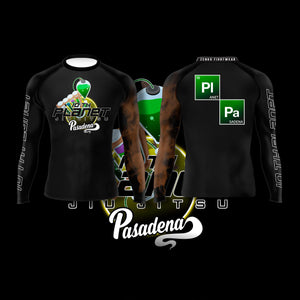 10th Planet Pasadena Ranked Rashguard Brown - Zenko Fightwear