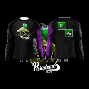 10th Planet Pasadena Ranked Rashguard Purple - Zenko Fightwear